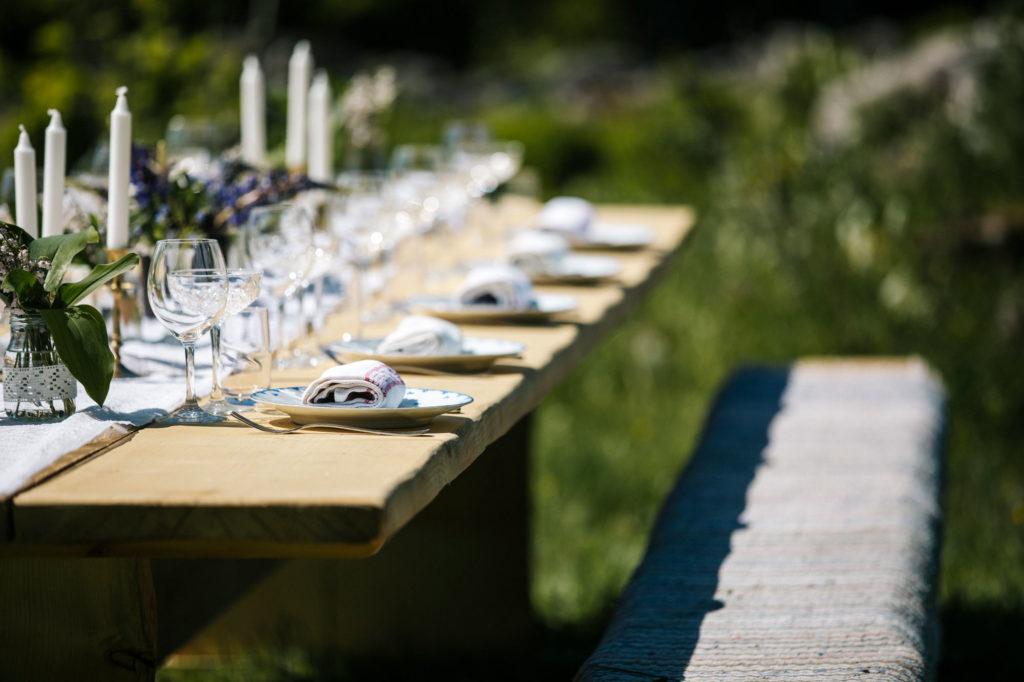 Dukat bord The Edible Table Kastebergs Gård