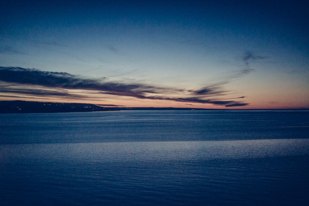Utsikt över Vättern från Vox Hotel i Jönköping
