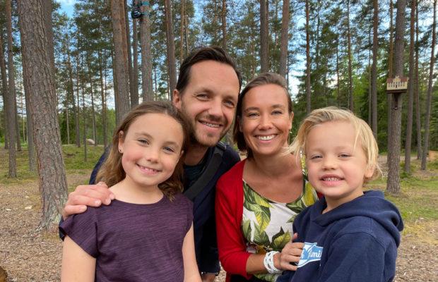 The Swedish Family emigrerar till Småland i sommar