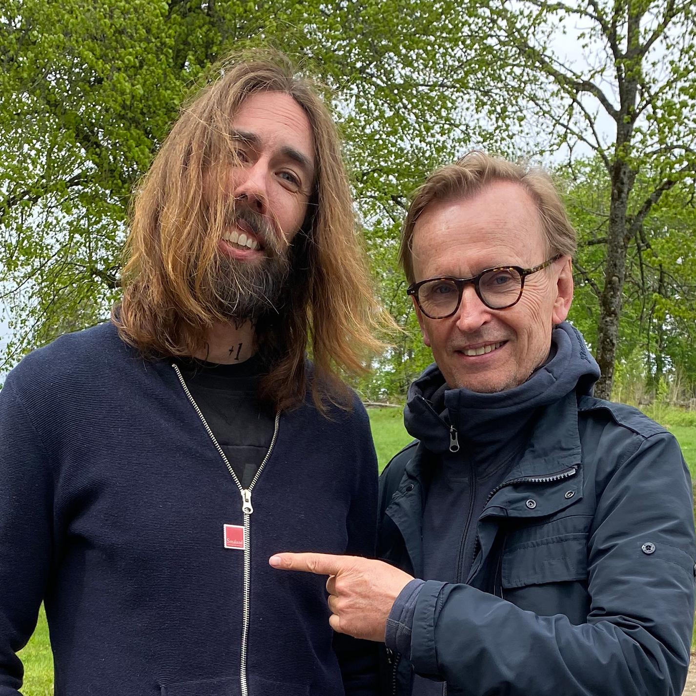 Porträttbild på Mikael och Johan.